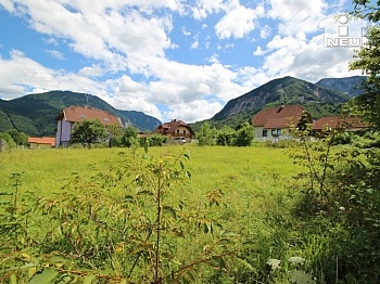 Kärntner Ruhelage schöner - Günstiger schöner Baugrund  953m² in Ferlach