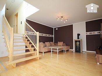 Wohnzimmer idyllische allgemeine - Neues, modernes Niedrigenergiehaus Nähe Feldkirchen
