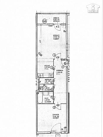 Küche Feber Jahre - Neue Top sanierte 2 Zi-Wohnung am Spitalberg