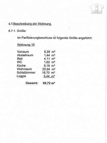 Heine Gasse Stock - Helle 2 Zi Wohnung in der Heinrich-Heine-Gasse