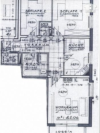 - Schöne 3 Zi-Wohnung in Klagenfurt Nähe Interspar