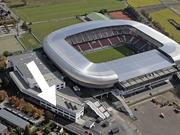 Fußballstadion außen
